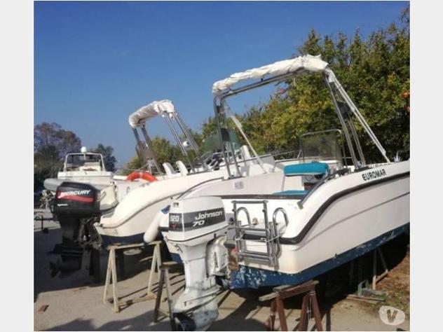 Barca a motore barca 550 prendisole anno2000 lunghezza mt550