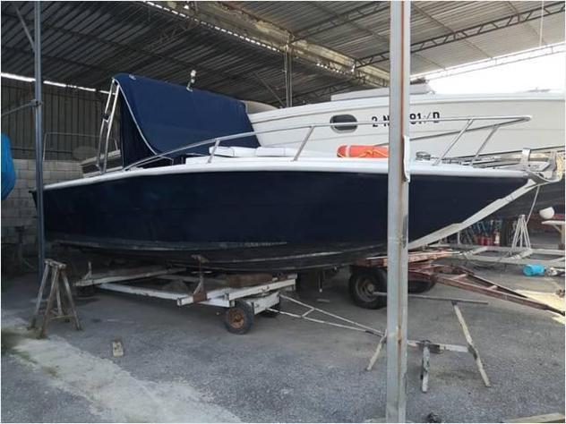 Barca a motore barca wa gari rudi 24 fb anno1990 lunghezza