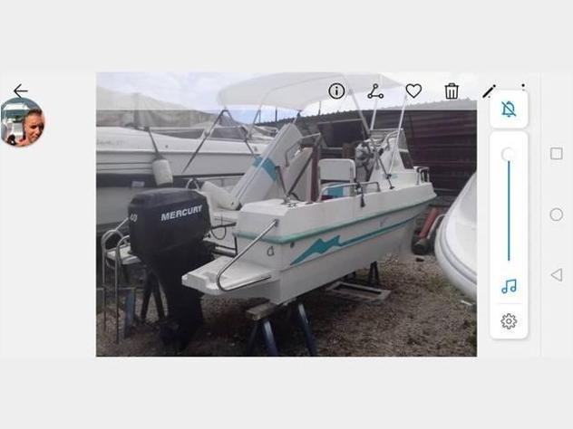 Barca a motore cabinato 560 cv40 4t anno2002 lunghezza mt560