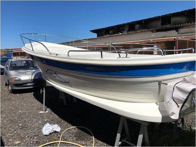 Barca a motore gozzo 6 new affare anno2019 lunghezza mt6