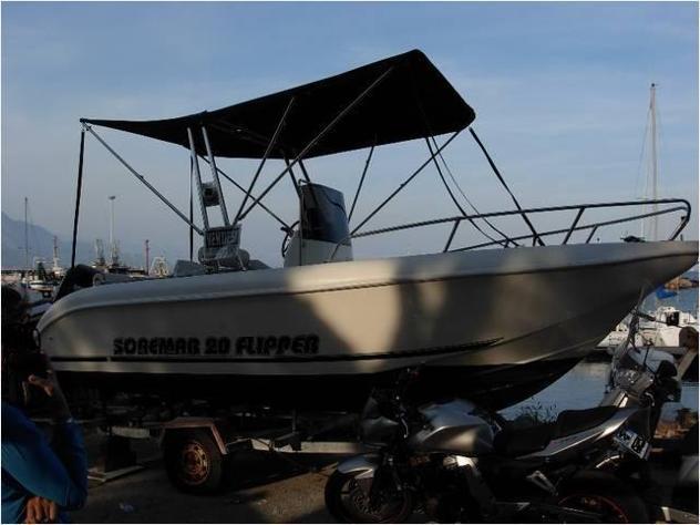 Barca a motore soremar 20 cv100 4t open anno2015 lunghezza