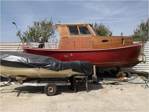 Barca a motoreaprea mare gozzo 920 td inaffondabil anno2019