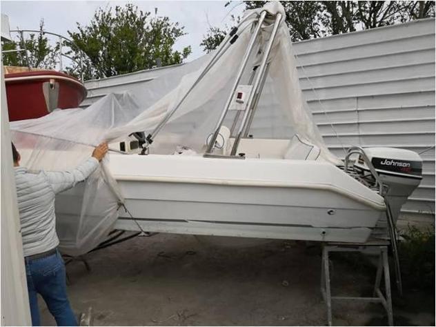 Barca a motoreaquaviva barca nopatente 40cv open anno1999