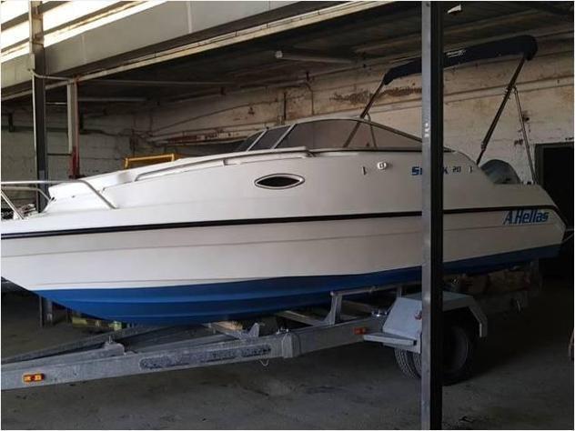 Barca a motorehellas barca cabin wa hellas 650 anno2002