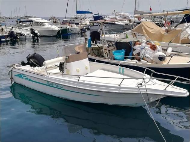 Barca a motoremarinello open anno1998 lunghezza mt6
