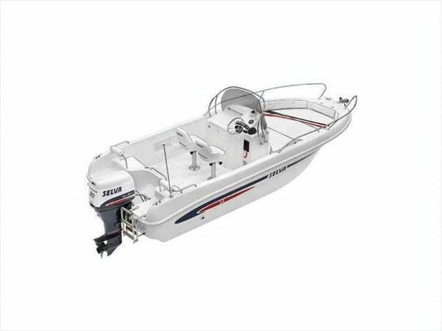 Barca a motoreselva marine barca wa 6 4t cv100 selva