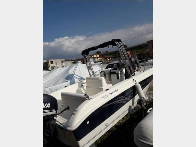 Barca a motoretecnofiber barca 22 tecnofiber 115cv anno2005
