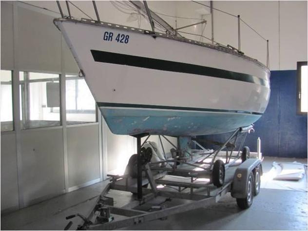Barca a velamarine service u 600 anno1997 lunghezza mt7