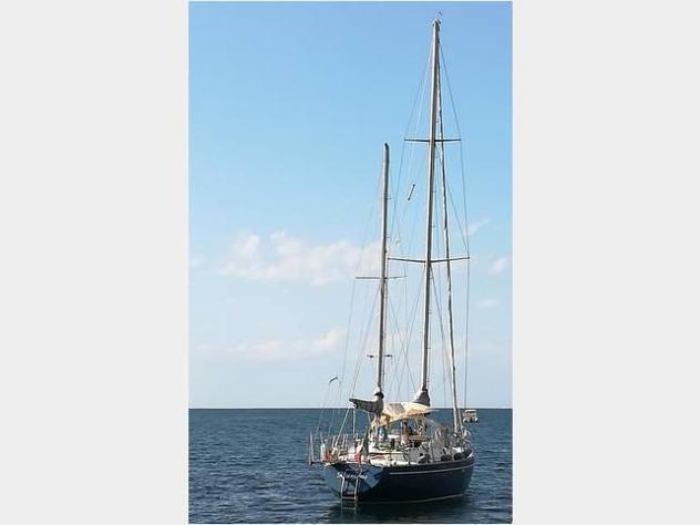 Barca a velarpd nelson 46 anno1978 lunghezza mt14
