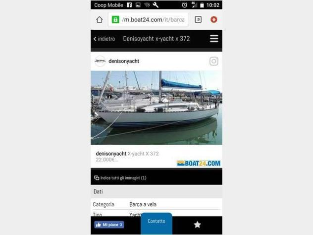 Barca a velax-yachts barca a vela cruiser anno1992 lunghezza