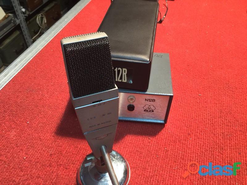 Microfono AKG C 12B Originale