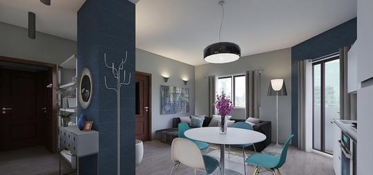 Appartamenti torino san salvario via muratori 8 cucina: