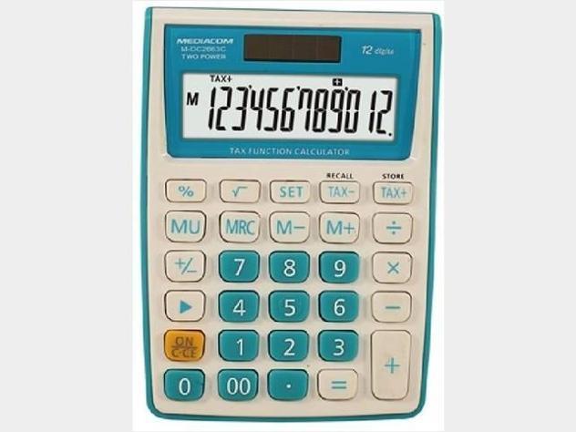 Calcolatrice 12 digits desktop dc2663c nuovo