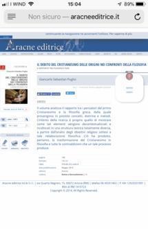 Filosofia storia scienze umane e letteratura italiana