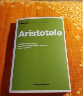 Libro aristotele collana filosofica corriere della sera roma