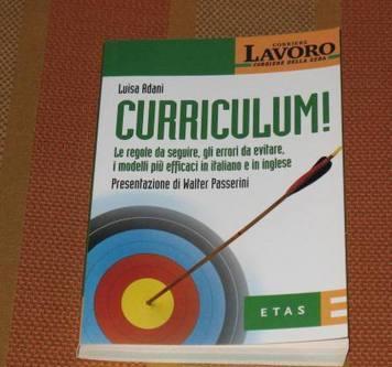 """Libro etas – corriere della sera """" curriculum """" roma"""