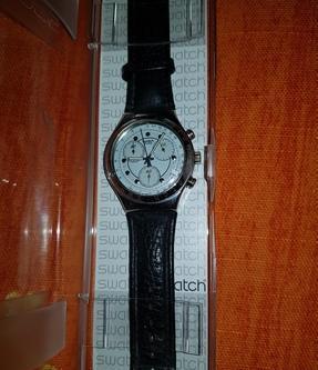 Orologio swatch irony chrono rough & rugged roma