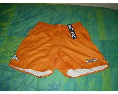 Pantaloncini calcio calcetto arancioni-kappa xl