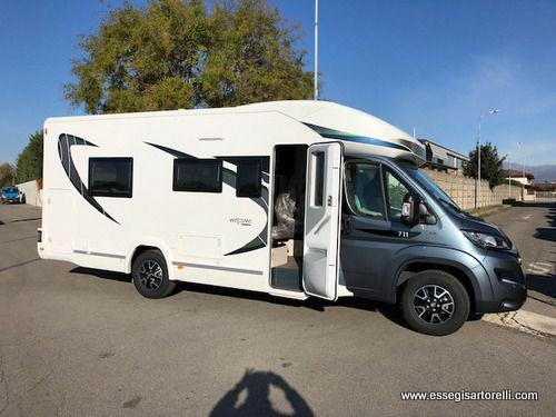 Chausson travel line 711 150 cv doppia porta cellula garage