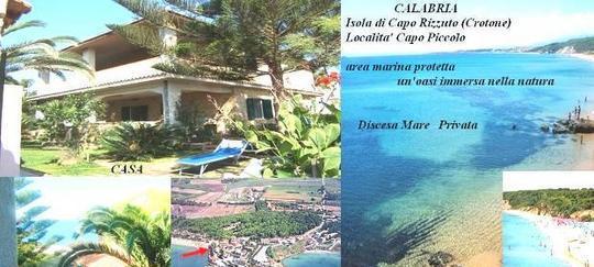 La villa al mare si puo' Capo Rizzuto, Calabria Isola di