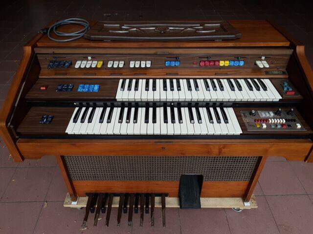 Organo elettronico farfisa 5220-r con unità partner 515