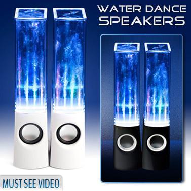 Speaker water dancing *** casse acqua e colori a ritmo