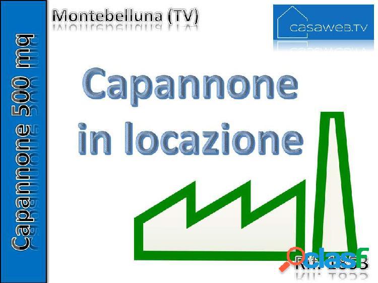 Capannone montebelluna 500 mq (tv) rif. 1853