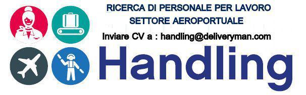 Operaio per gestione dei servizi aeroportuali