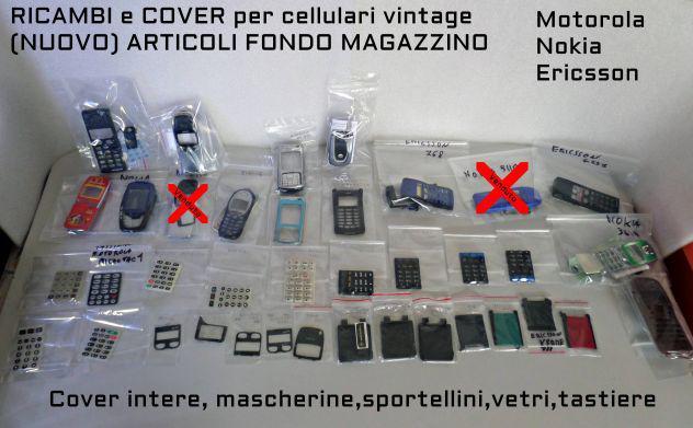 Ricambi e cover cellulari vintage (nokia, ericsson,