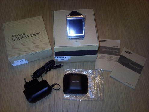 Samsung galaxy gear black sm-v7000zk nuovo garanzia italia