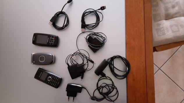 Cellulare samsung sony ericsonn nokia carica batteria