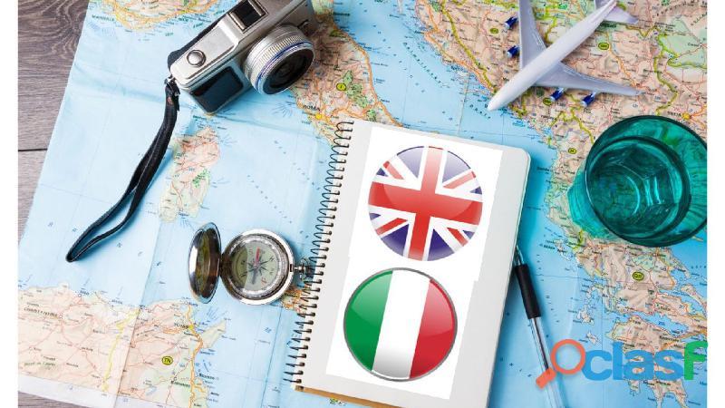 Corso di inglese da viaggio per principianti per partire senza pensieri