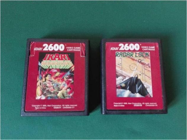 Atari 2600 ikari radar lock console giochi