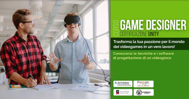 Corso da game designer