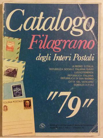 Catalogo filagrano degli interi postali '79 sintoni vidmer