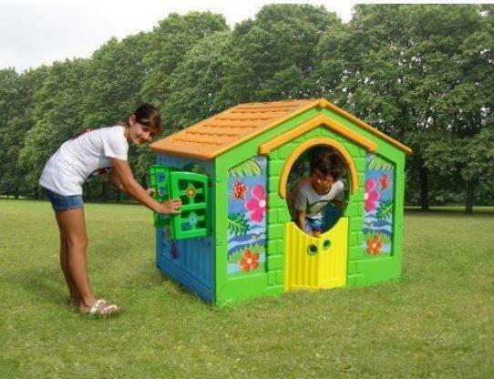 Giocattolo casetta da bambini in plastica new plast farm