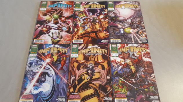 Infinity countdown completa da 1 a 6 marvel miniserie da 204