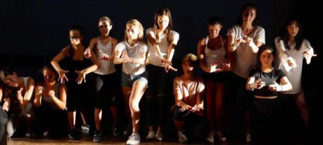 Laboratorio di danza - secret journey tipping utopia into