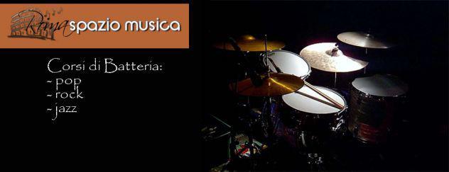 Lezioni di batteria roma spazio musica (roma nord nuovo