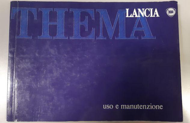 Libretto uso e manutenzione lancia thema in italiano