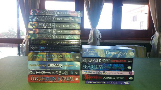 Libri fantasy in inglese