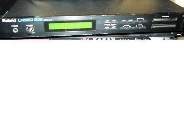 Roland u220,expander multitimbrico digitale