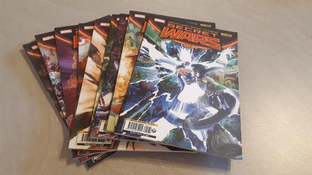 Secret wars completa da 1 a 9 marvel miniserie da 164 a 172