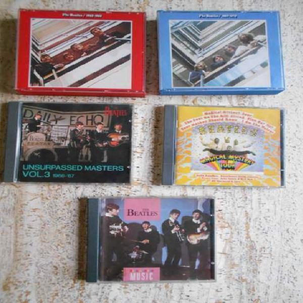 The beatles lotto di 5 cd anche singoli