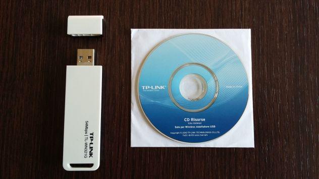 Adattatore di rete wireless tp-link tl-wn321g