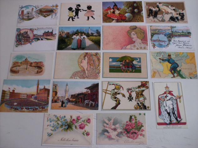 Cartoline d'epoca riproduzioni