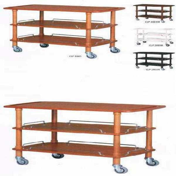 Carrello servizio sala in legno cm 110
