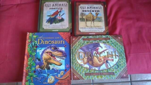 Libri per bambini draghi, dinosauri ed animali