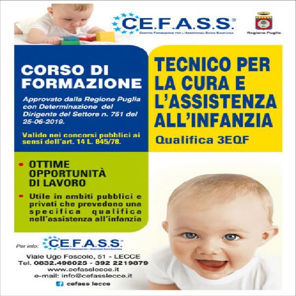 Tecnico per la cura e l'assistenza all'infanzia