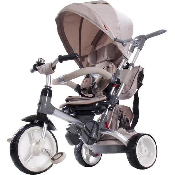 Triciclo passeggino seggiolino reversibile 6in1 happy kids